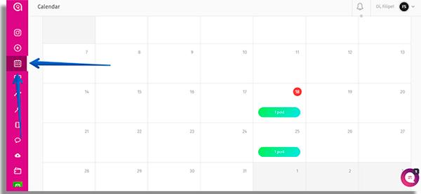 como usar o simplegram calendario