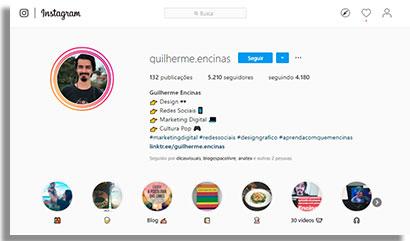 especialistas em instagram guilherme