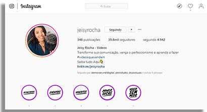 especialistas em instagram jeisy2
