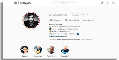 especialistas em instagram larrossa2