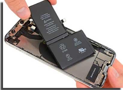 iphone xs vs iphone x bateria