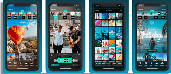 Videorama apps to record videos