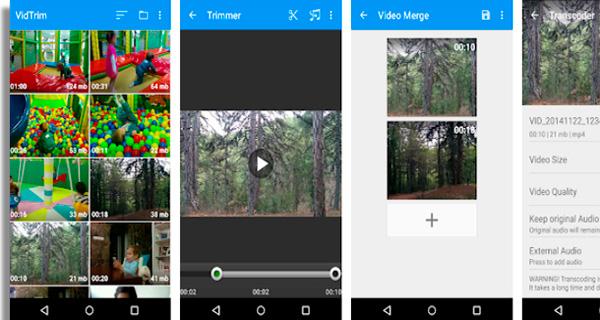Vidtrim apps to record videos