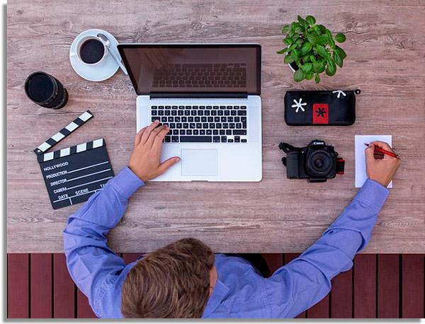 criando roteiro para vídeos