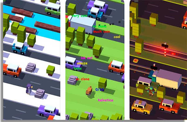 crossy road para android e iphone