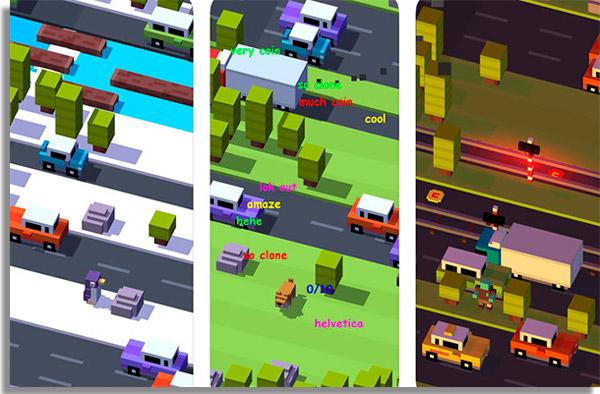 Crossy Road best lightweight mobile games