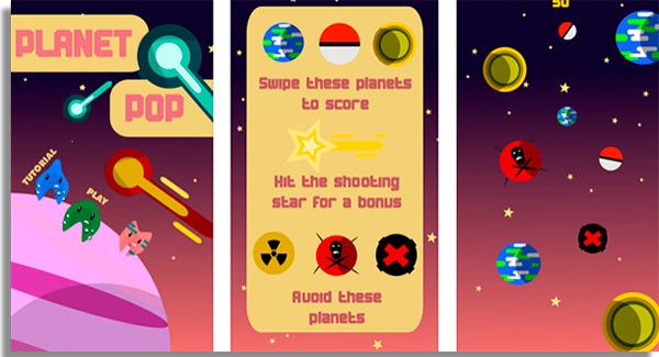 Planet Plop best lightweight mobile games