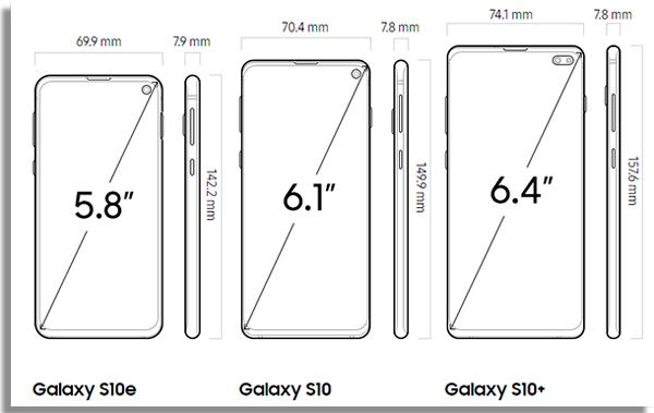 tela do novo smartphone da empresa sulcoreana