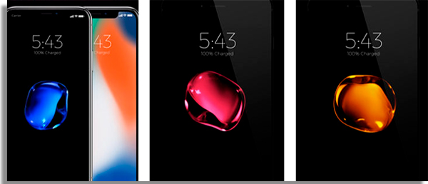 wallpapers para iphone black