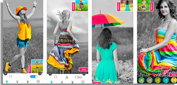 aplicativos para tratar fotos colorsplash