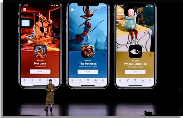 servico de jogos para iphone por assinatura