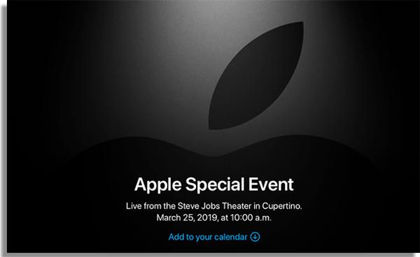 apple tv evento