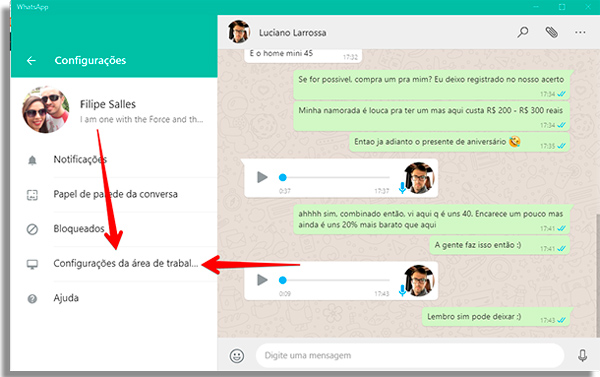 como usar whatsapp pelo pc configdesktop