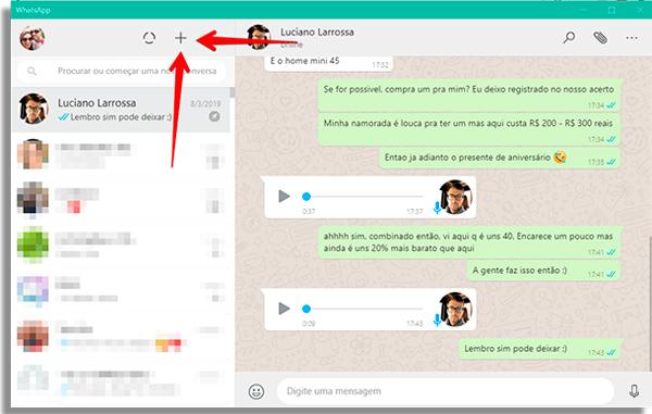 como usar whatsapp pelo pc mais