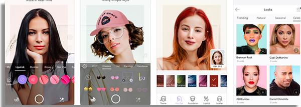app de maquiagem virtual makeupplus