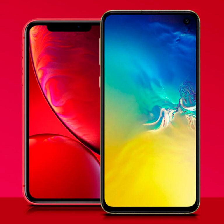Galaxy S10e vs iPhone XR: Qual é o melhor?