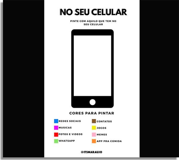 pinte seu celular de acordo com os apps que tem instalado nele