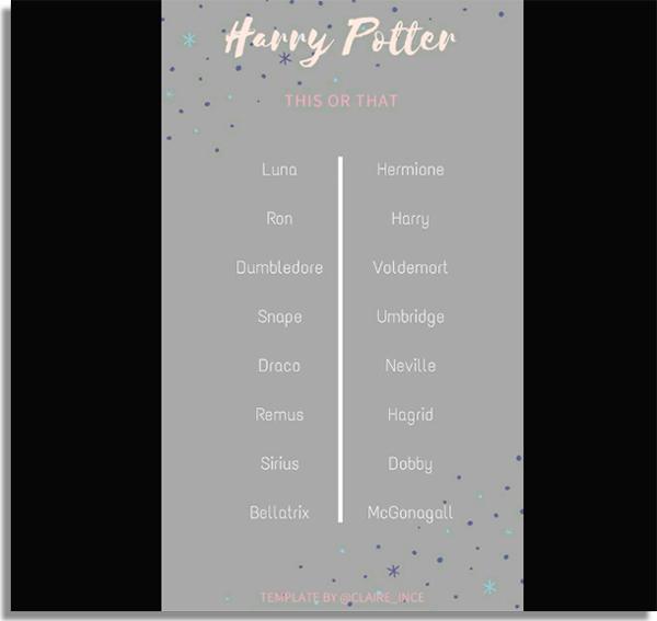 quais sao os melhores personagens de harry potter