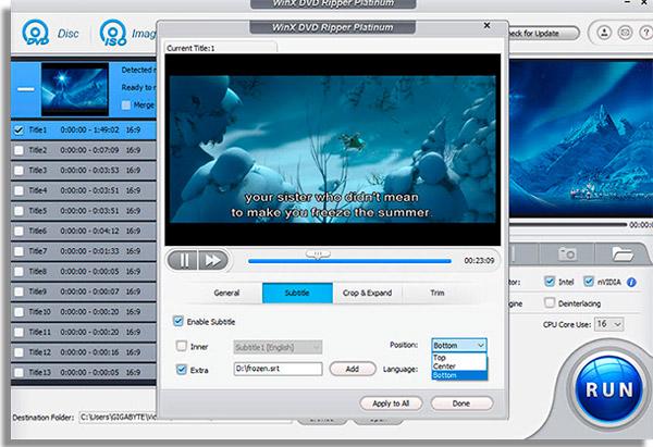 converter dvd em video legenda