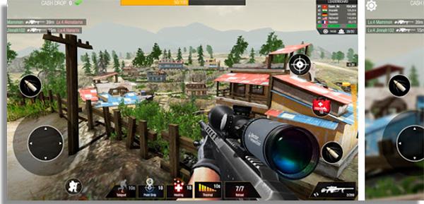 jogos parecidos com free fire sniper