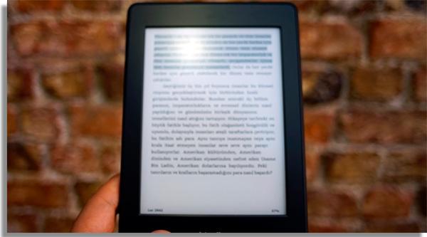 leitor de livros digitais kindle