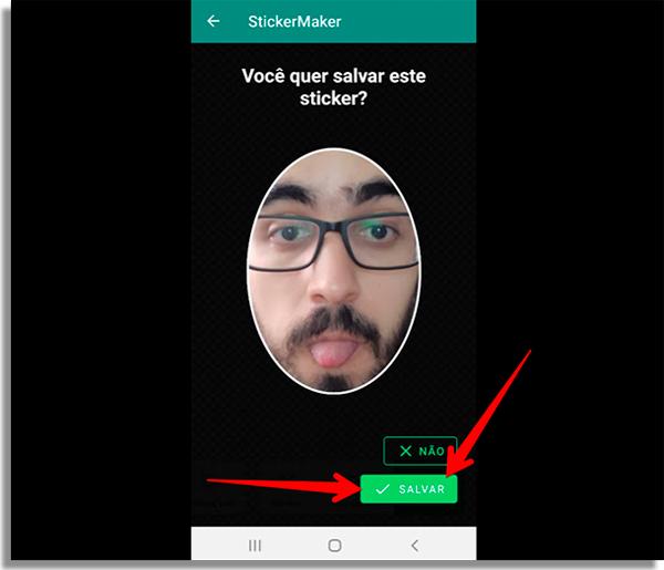 como criar figurinhas no whatsapp salvar