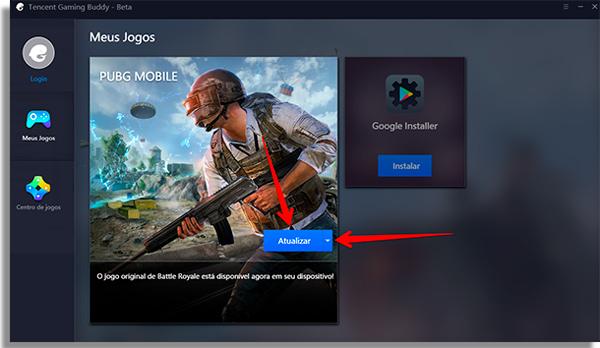 como jogar pubg mobile no pc atualizar