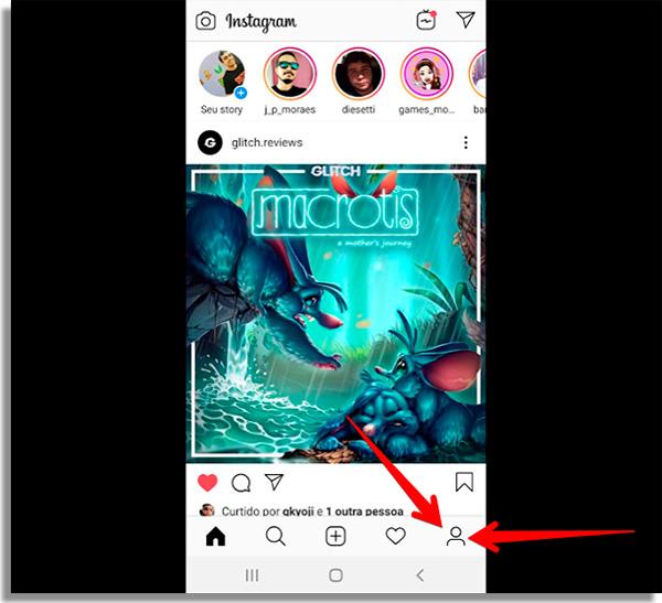 como mudar nome no instagram inicio