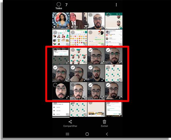 como passar fotos do celular para o PC selecionar