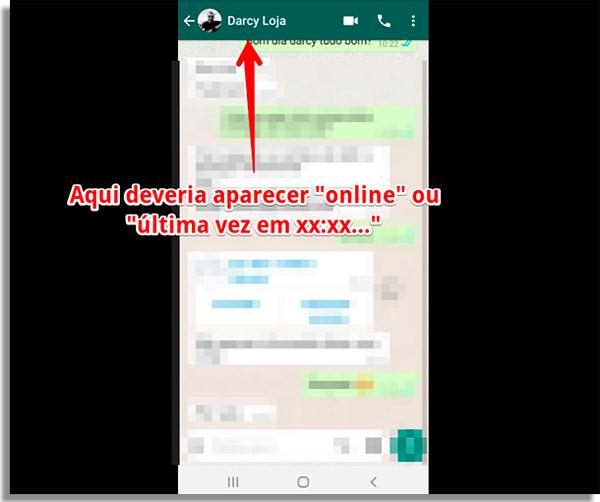 como saber se alguem te bloqueou no whatsapp online