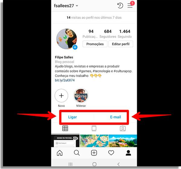 como vender pelo instagram contato