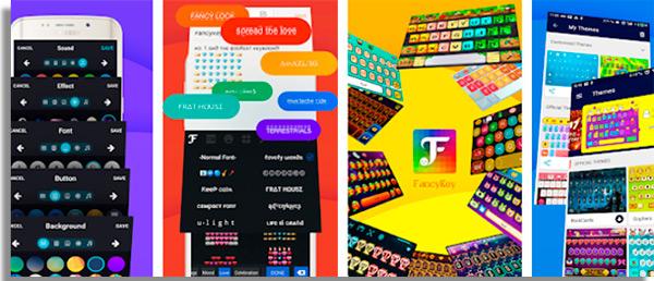 um dos apps de teclado mais espalhafatosos