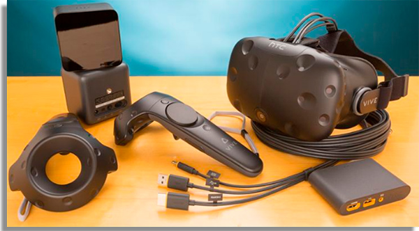 o aparelho da htc e o principal rival da oculus