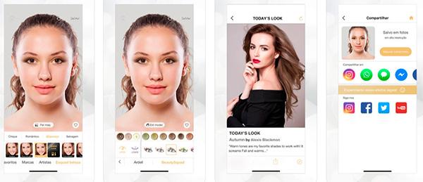 aplicativos para melhorar fotos perfect365