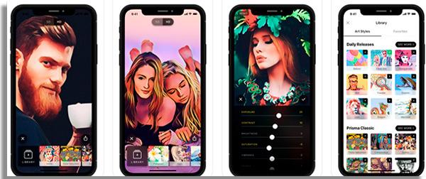 aplicativos para melhorar fotos prisma