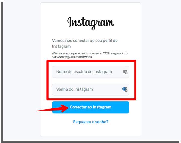 faça seu cadastro para seguir automaticamente instagram