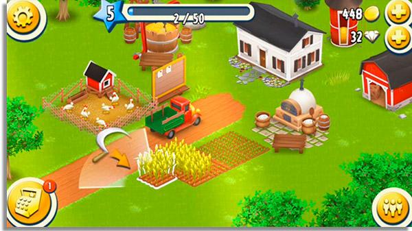 jogos de fazenda hayday