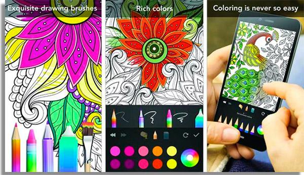 jogos de pintar online garden