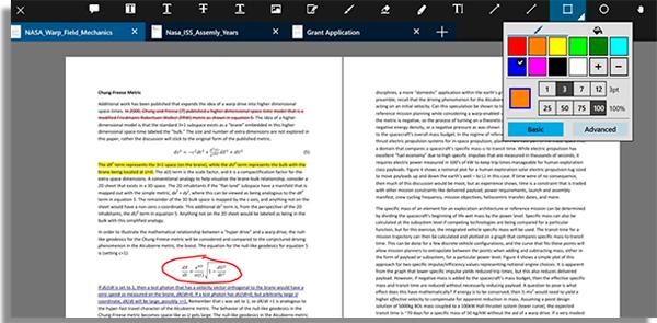 use o xodo para fazer anotacoes nos documentos