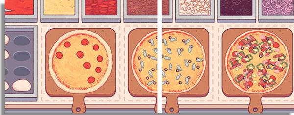 faca boas pizzas e tenha uma pizzaria de respeito nesse game