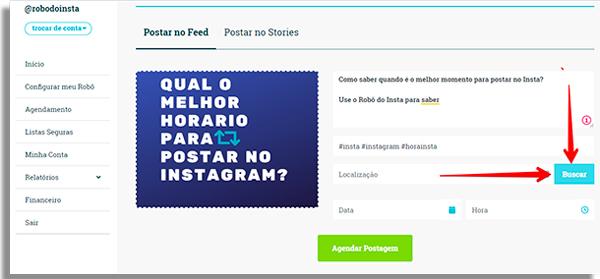 qual o melhor horario para postar no instagram buscarlocal