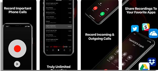 aplicativo gravar ligacao tapeacall