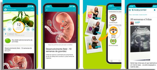 aplicativos gravidas minhagravidez