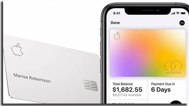 Apple Card Versão Digital no iPhone e Física Com o Cartão de Titânio