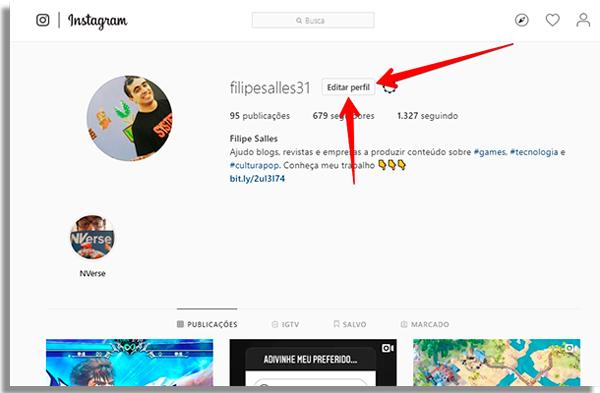 colocar circulo foto instagram editar