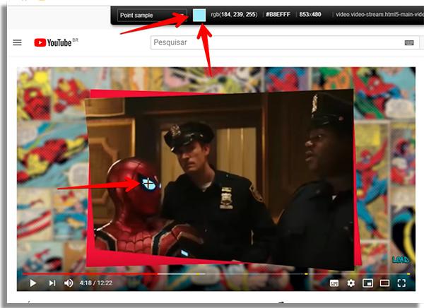 veja esse print de captura no youtube
