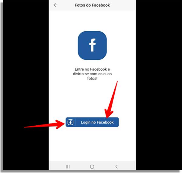 como usar faceapp login
