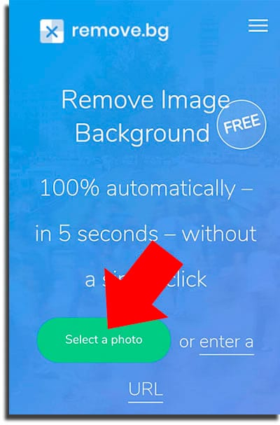 Select a photo how to use Canva