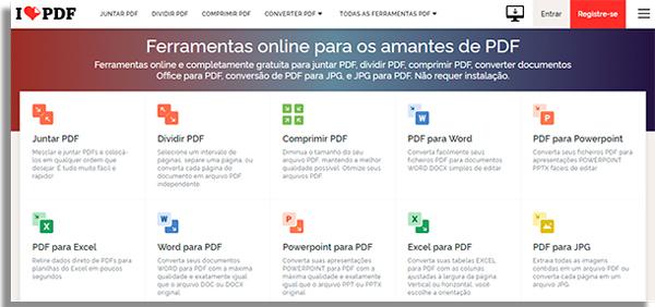 converter pdf para jpg ilovepdf