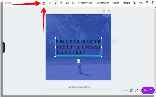 criar imagens frases cortexto